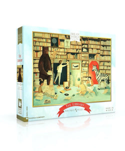 The Library 1000-Piece Puzzle