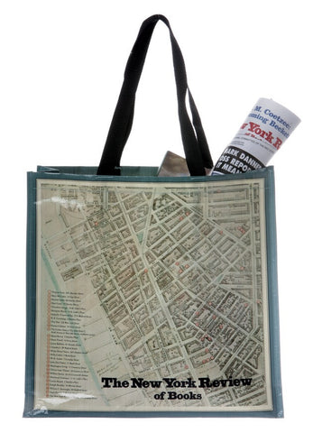 New York Review Literary Greenwich Village Tote Bag