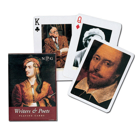 Writers & Poets Playing Cards