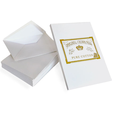 Pure Cotton Correspondence Pad and Envelopes