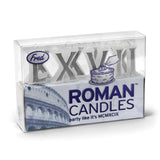 Roman Numeral Birthday Candles