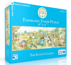 Beatrix Potter 24-Piece Panoramic Floor Puzzle