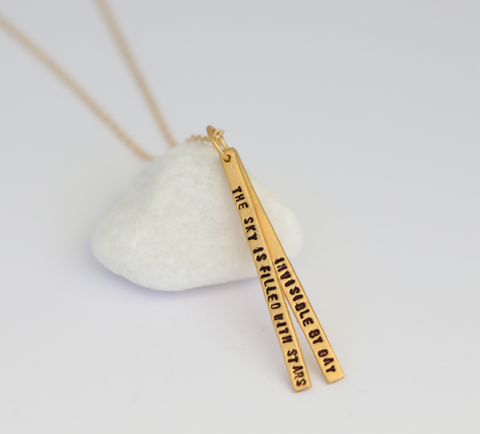 Sky is Filled With Stars Necklace