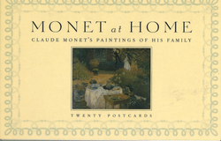 Monet at Home Postcard Book