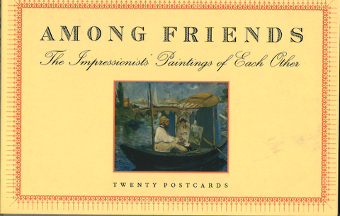 Among Friends Postcard Book