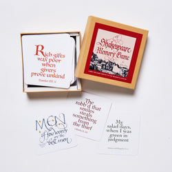 Shakespeare Memory Game