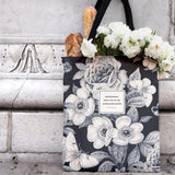 Romantic Poets Floral Tote Bags (Wordsworth, Coleridge, Shelley)