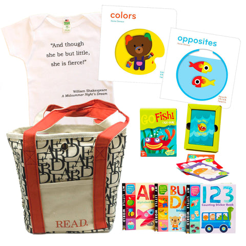 Literary Toddler Gift Basket (Ages: 2-3 years)