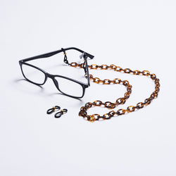 Tortoise Shell Eyeglass Necklace