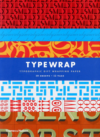 Typographic Wrapping Paper