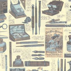 Vintage Stationers Wrapping Paper