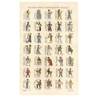 Women Who Changed the World Tea Towel