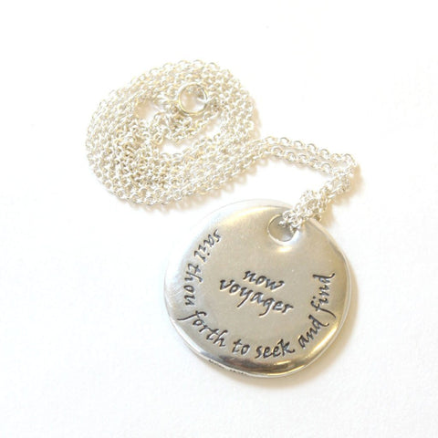 Walt whitman pendant necklace the readers catalog nyr walt whitman pendant necklace aloadofball Images