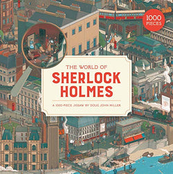 The World of Sherlock Holmes: 1,000-Piece Puzzle