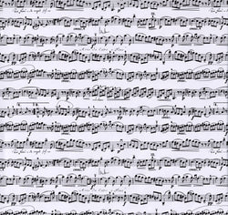 Sheet Music Wrapping Paper