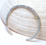 Jane Austen Adventures Sterling Silver Cuff