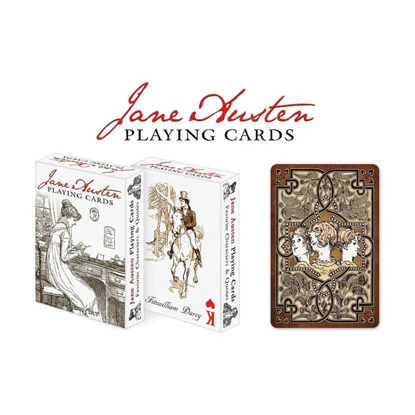 Jane Austen Playing Cards