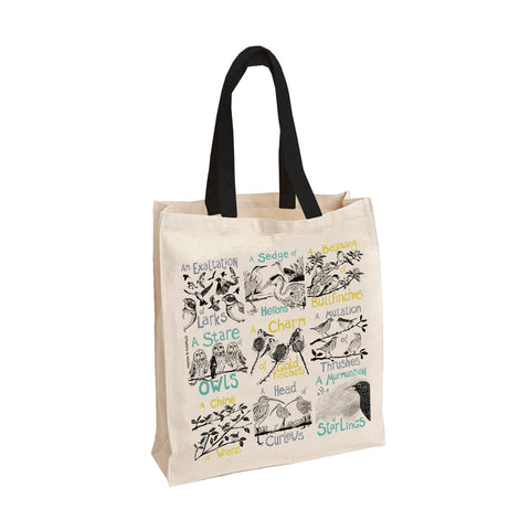 Collective Noun Birds Tote Bag