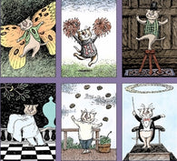 Edward Gorey Dancing Cats 300-piece Puzzle