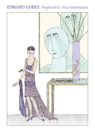 Edward Gorey Neglected Murderesses Notecards