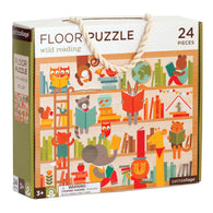 Wild Reading 24-Piece Floor Puzzle