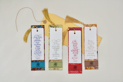 Handcrafted Bookmarks