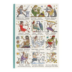 Greek Gods and Goddesses Notebook