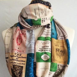 Classic Book Covers Scarf