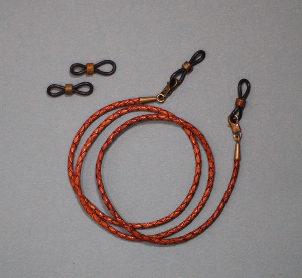 Leather Eyeglass Lanyard