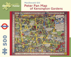 Peter Pan Map of Kensington Gardens Puzzle