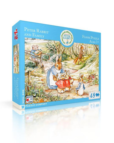 Peter Rabbit and Family 48-piece Floor Puzzle
