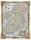 Story Map of Ireland 500-Piece Puzzle