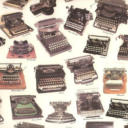 Vintage Typewriter Wrapping Paper
