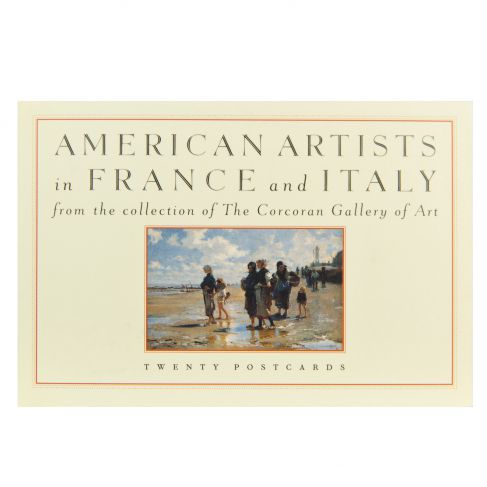 American Artists in France and Italy Postcard Book