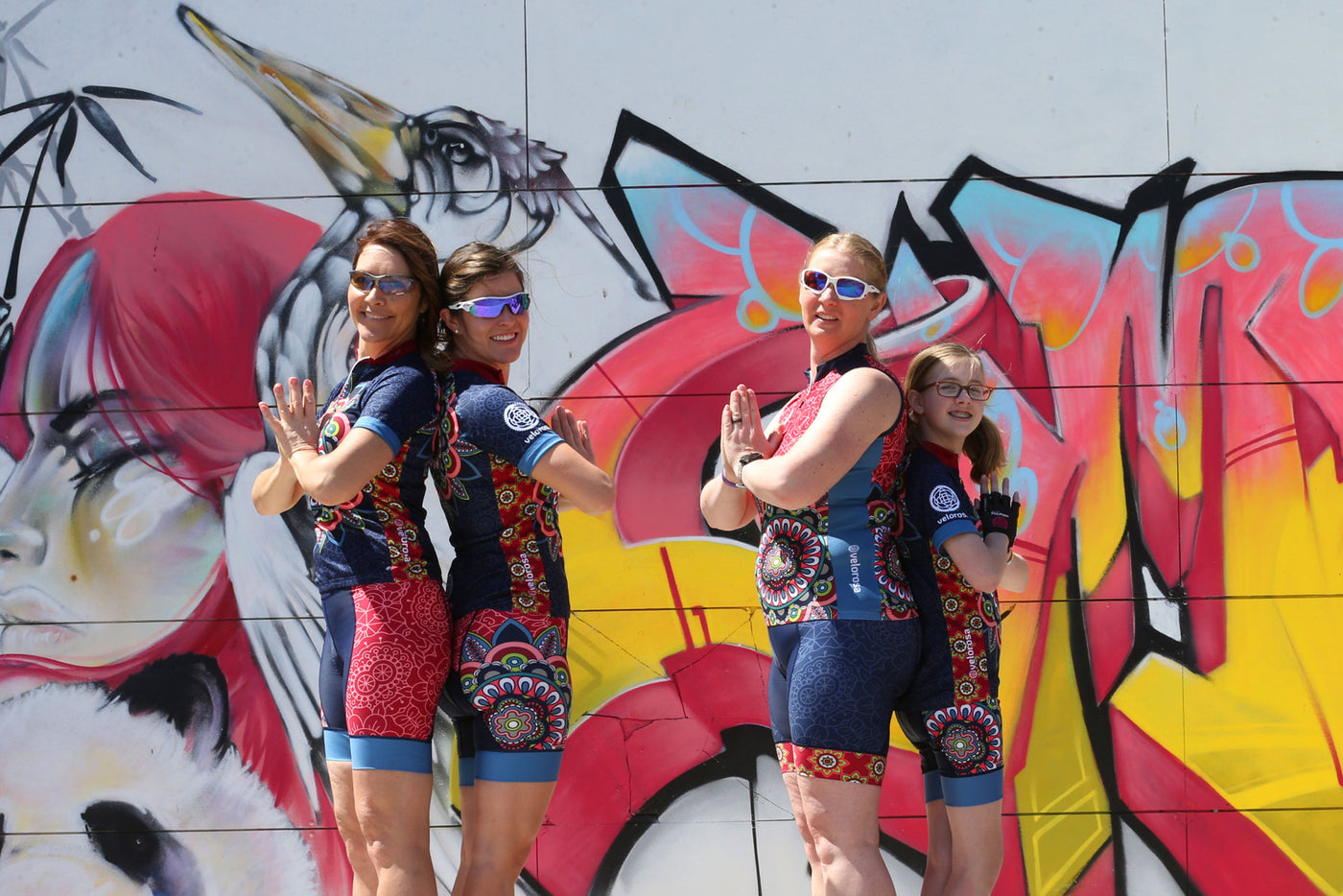 Mandala Collection Cycling Wear