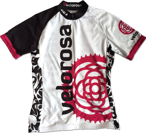 Atomic White Short-Sleeved Jersey