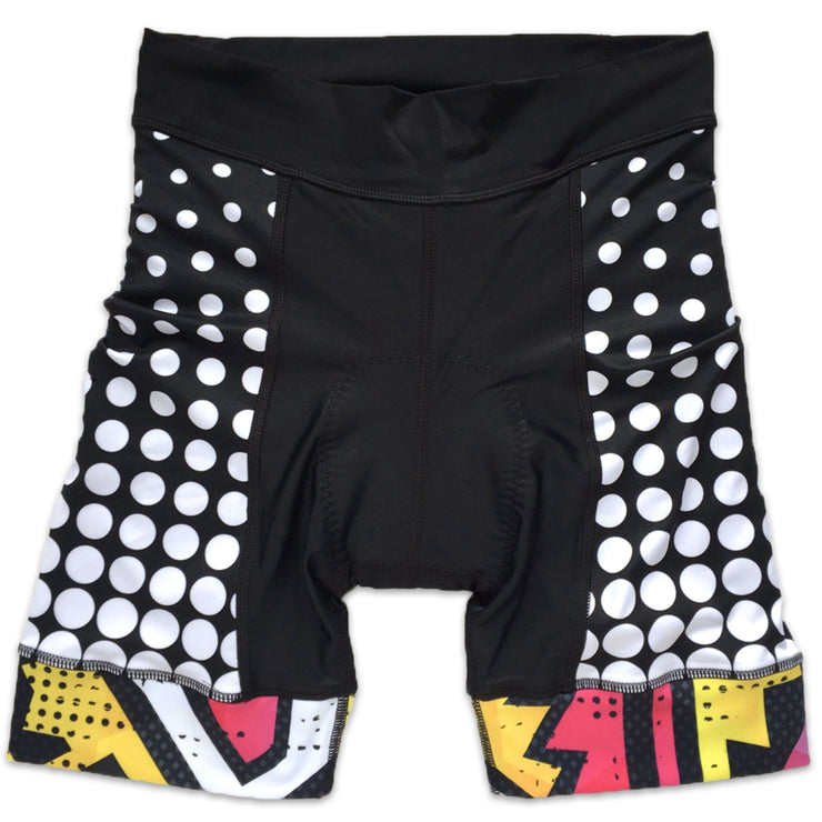 BAM! Women's Band Cycling Shorts Front