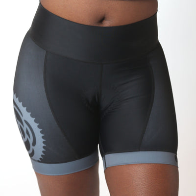 Basic Black Cali Cycling Shorts