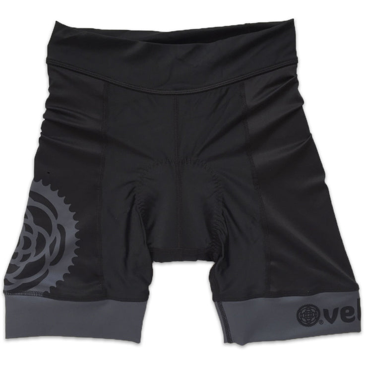 Basics Collection Women's Cycling Shorts Black Front