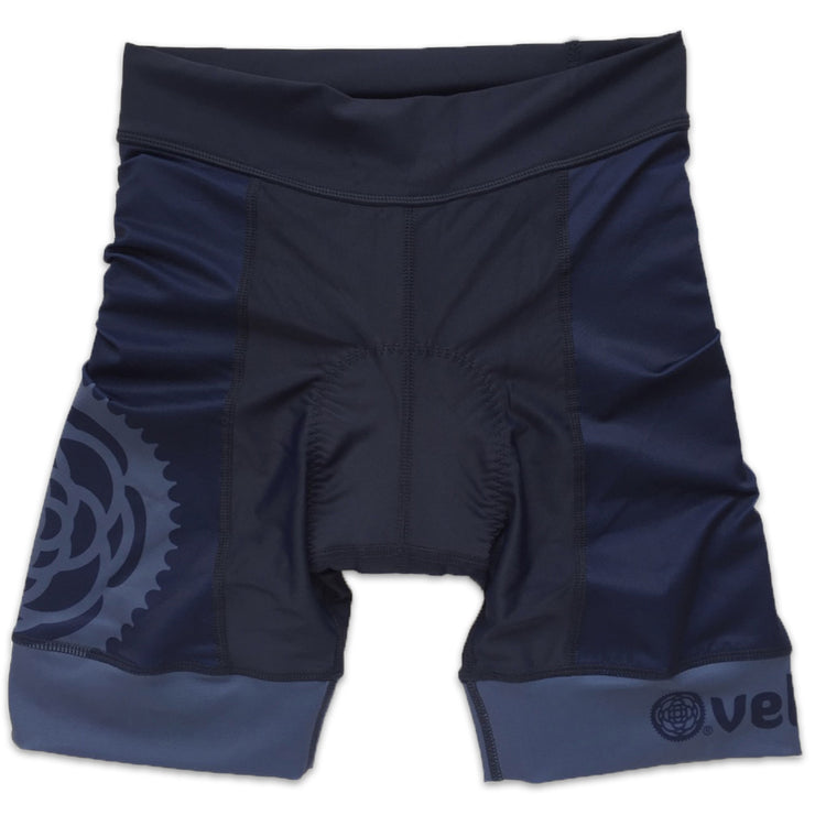 Basics Collection Women's Cycling Shorts Navy Front