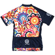 Flower Power Women's Biking Jersey Back