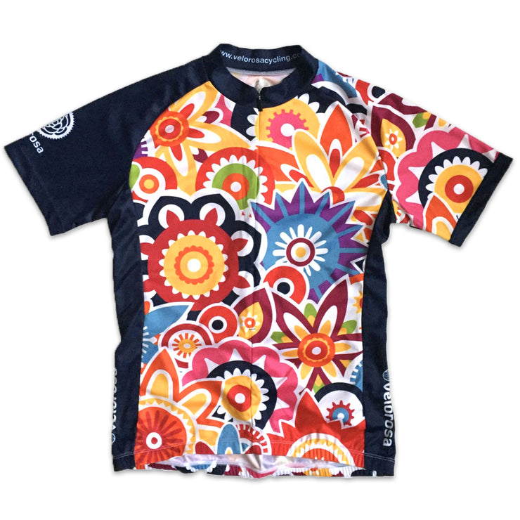 Flower Power Women's Cycling Jersey Front