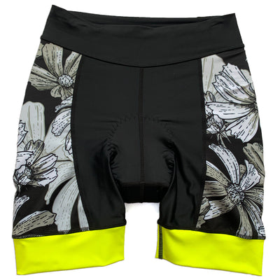 High Vis Floral Cycling Shorts