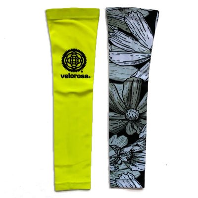 High Vis Floral Arm Warmers
