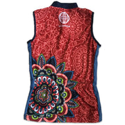 Mandala Sleeveless Women's Biking Jersey Back