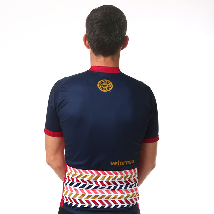 Men's Retro Short-Sleeved Jersey