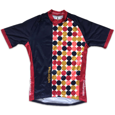 Retro Men's Cycling Jersey Front
