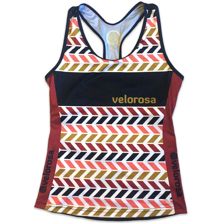 Retro Collection Women's Cycling Tank Front