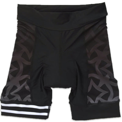 Ride Patrol Women's Band Cycling Shorts Front