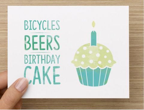 Bicycle Greeting Cards Bundle